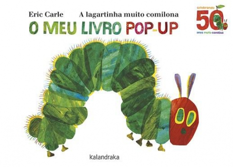 A lagartinha pop up
