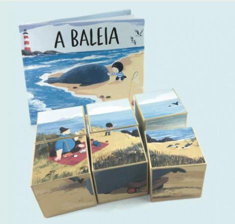 A BALEIA - LIVRO& PUZZLE