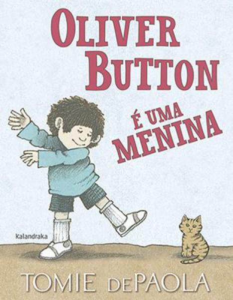 Oliver Button e uma menina